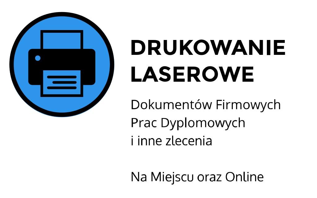 Drukowanie laserowe ul. Łobzowska, Kraków