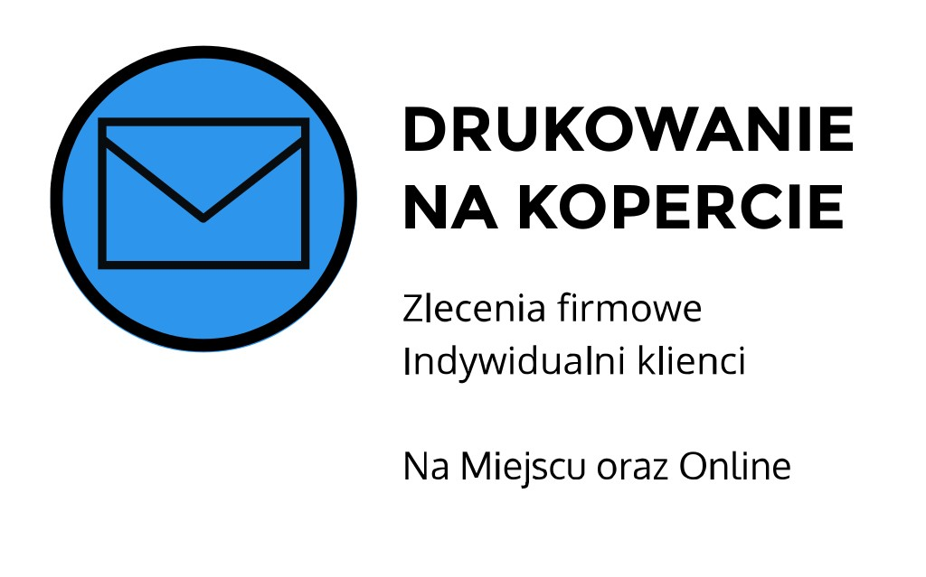 Drukowanie na kopercie ul. Szlak, Kraków