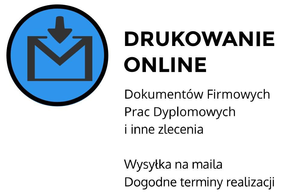 Drukowanie online ul. Szlak, Kraków