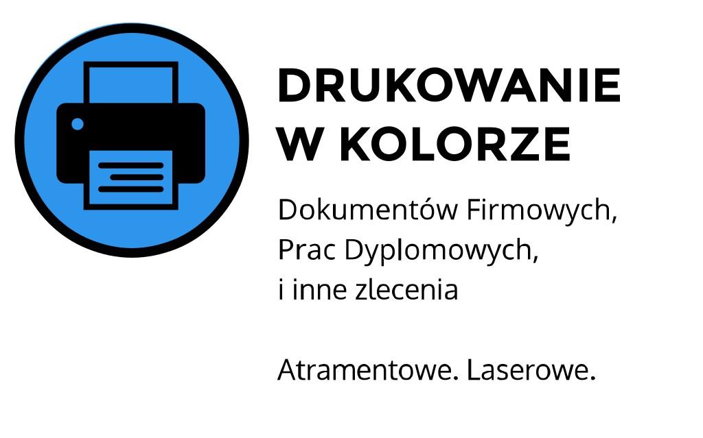 Drukowanie w kolorze ul. Łobzowska, Kraków