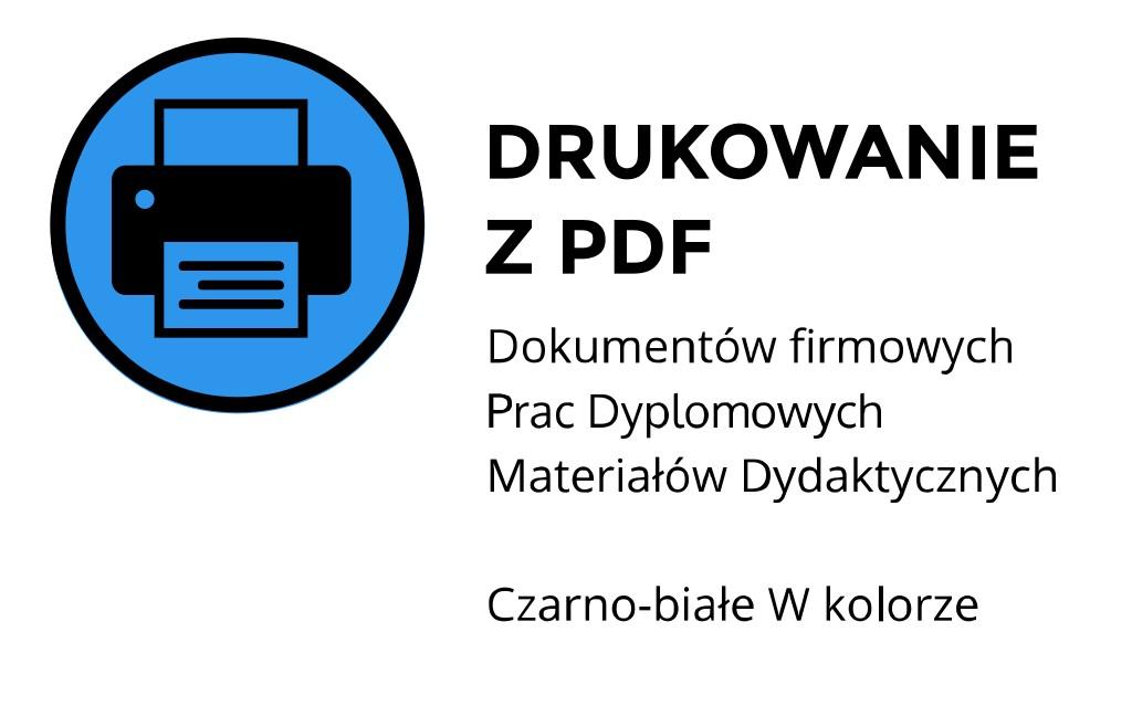 Drukowanie z pdf ul. Łobzowska, Kraków