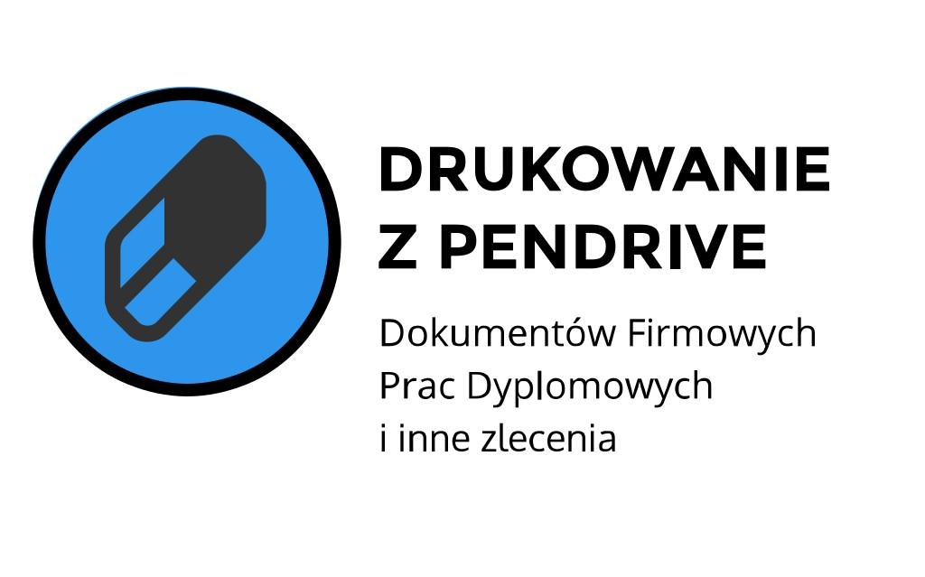 Drukowanie z pendriva ul. Łobzowska, Kraków