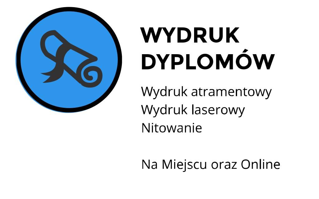 Wydruk dyplomów ul. Mickiewicza,  Kraków