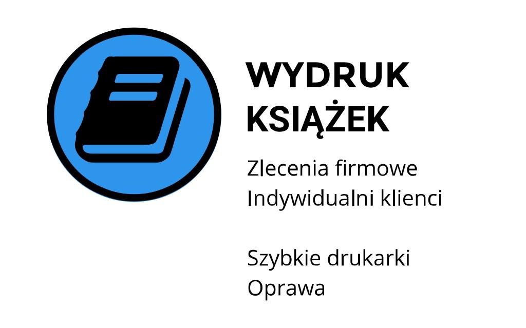 Wydruk książek ul. Łobzowska, Kraków