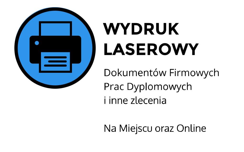 Wydruk laserowy ul. Łobzowska, Kraków