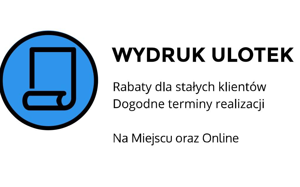 Wydruk ulotek ul. Łobzowska, Kraków