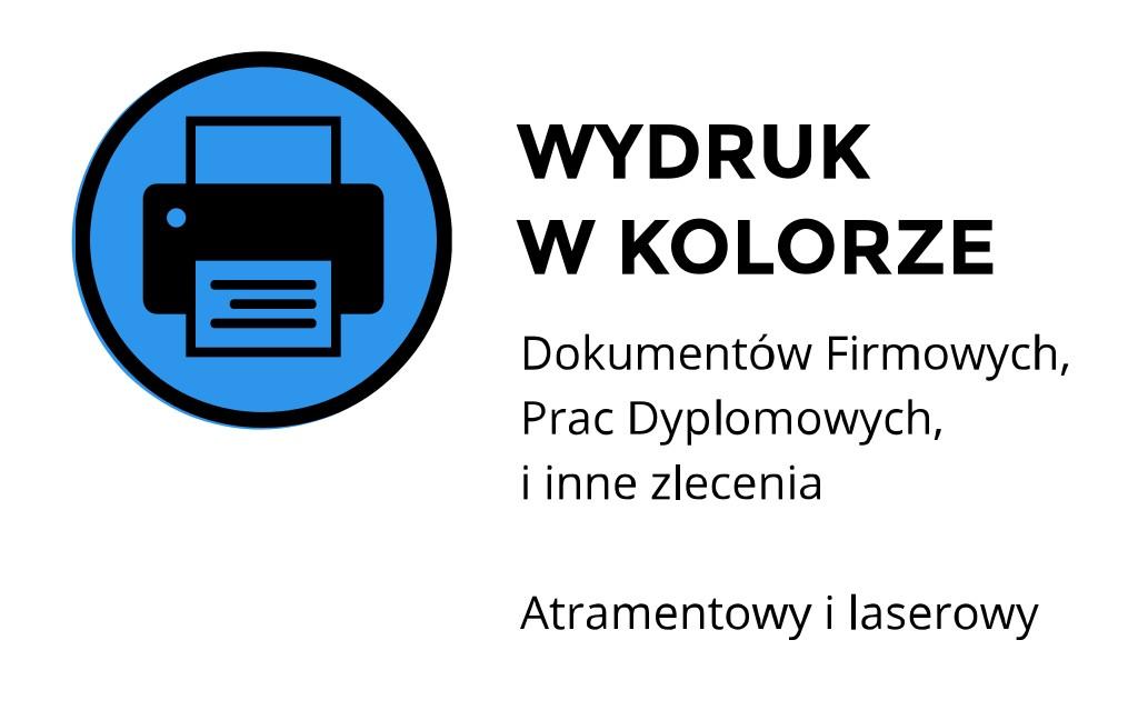 Wydruk w kolorze ul. Łobzowska, Kraków