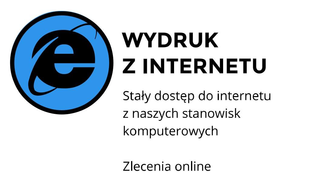 Wydruk z internetu ul. Mickiewicza, Kraków