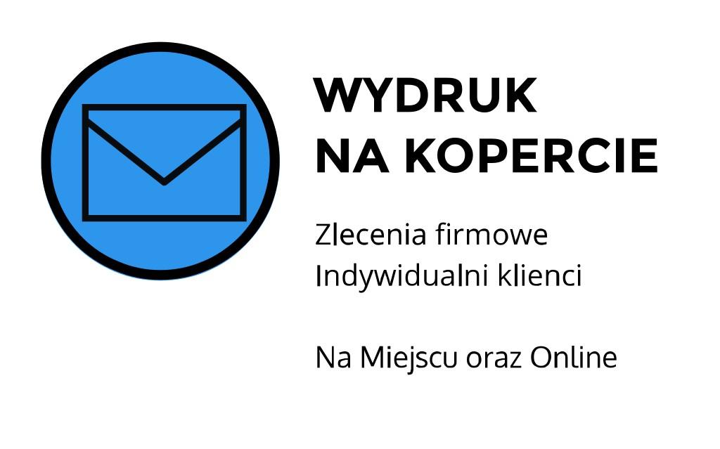 Wydruki na kopercie ul. Łobzowska, Kraków