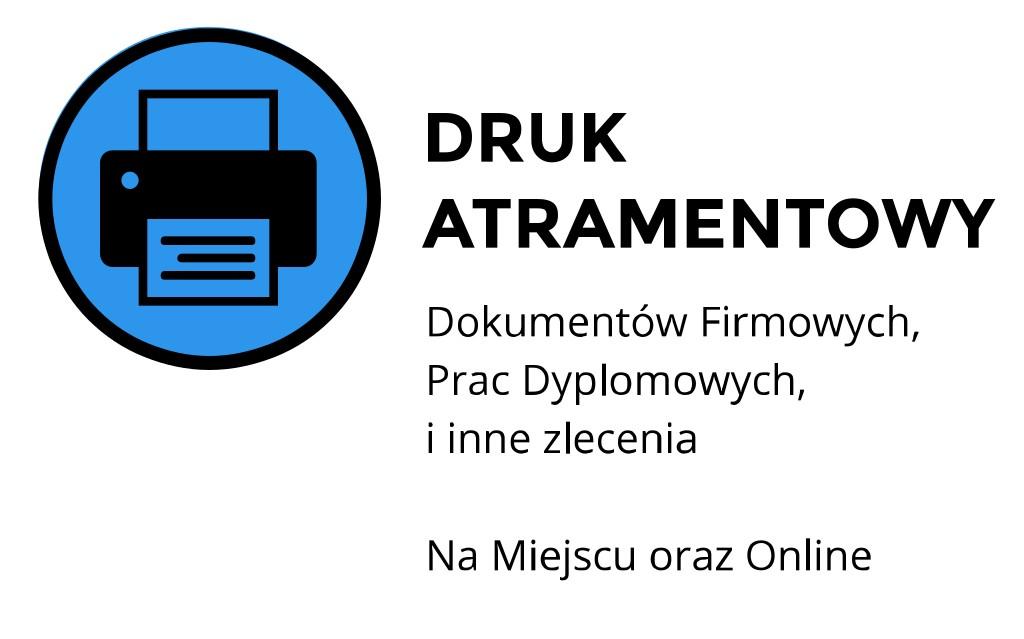 druk atramentowy Kraków Staszica