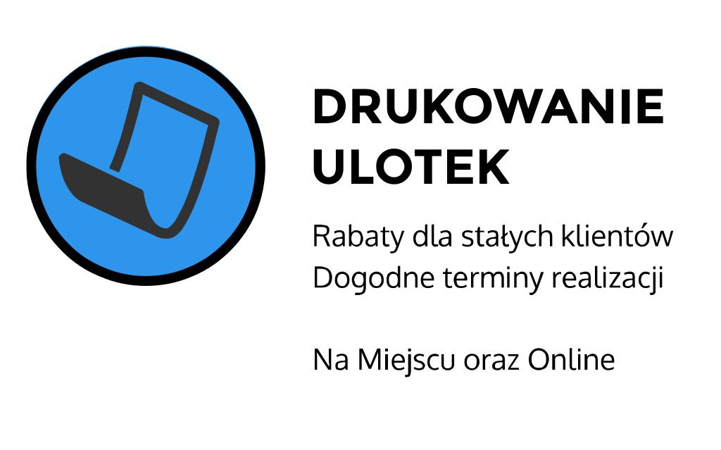 druk ulotek cennik Słowiańska
