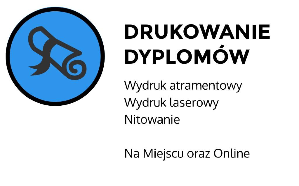 drukowanie dyplomów Kraków Staszica
