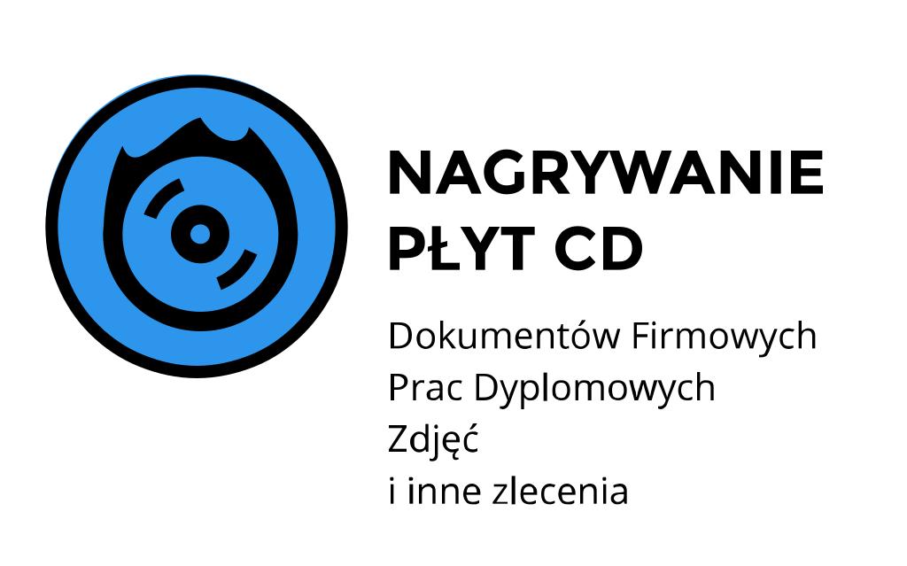 jak nagrać dokument na płytę cd Nowy Kleparz