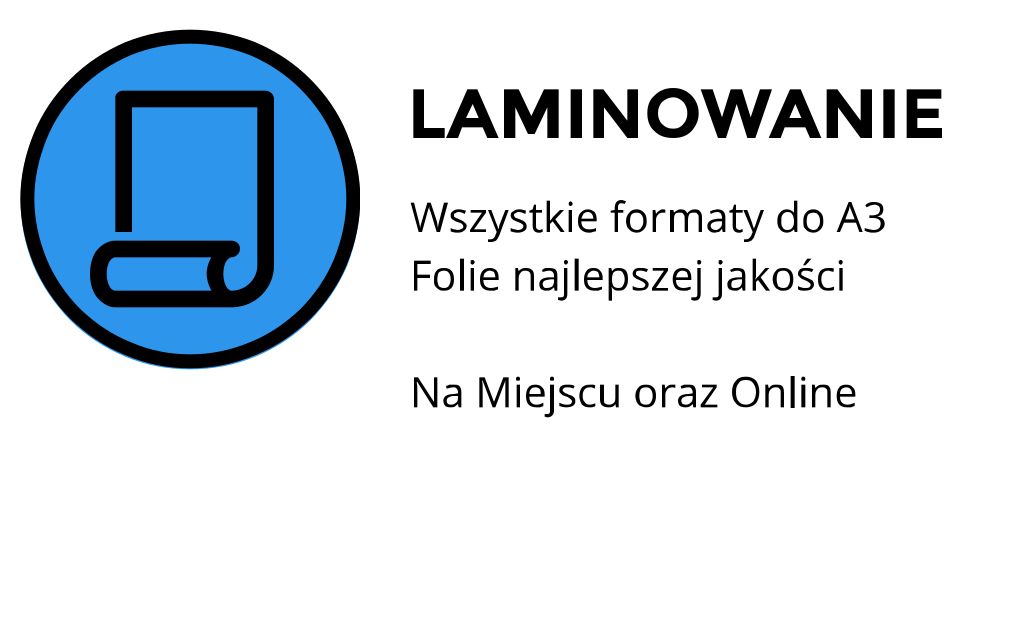 laminowanie kartek cena Smoleńsk