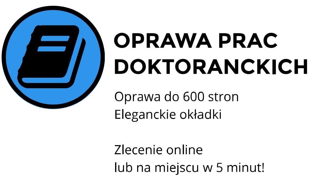 oprawa prac doktorskich kraków ul. Czereśniowa