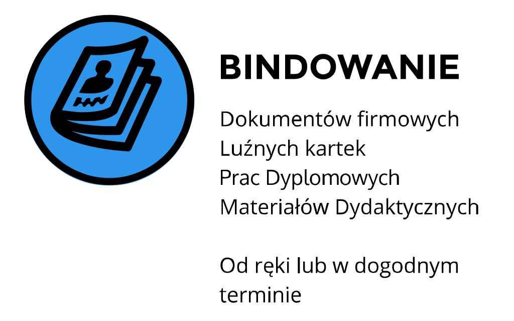 oprawianie prac bindowanie Kraków Staszica