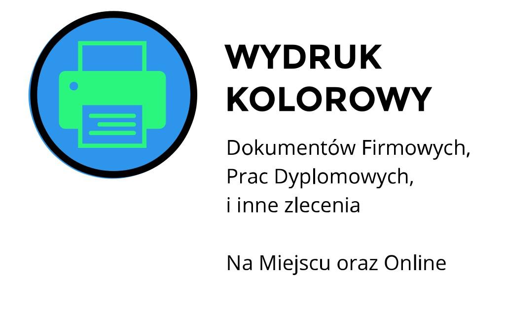 wydruk kolorowy Kraków Staszica