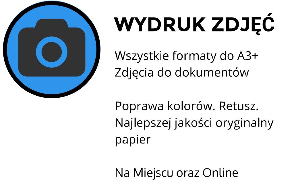 wydruk zdjęć Kraków Aleje